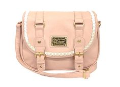 My Melody leather bag series pochette pink MM-591