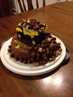 Dumptruck Cake
