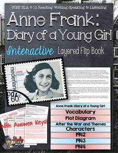 Anne Frank, Diary of a Young Girl: Interactive Layered Flip Book ($)