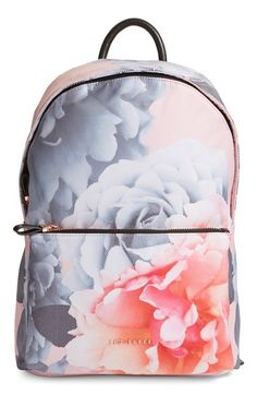 Ted Baker London 'Mariesa' Floral Print Backpack available at #Nordstrom