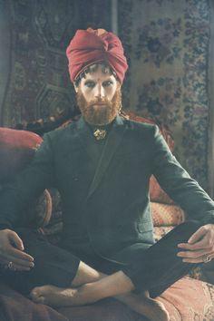 Maharaja by Stefan Giftthaler, via Behance