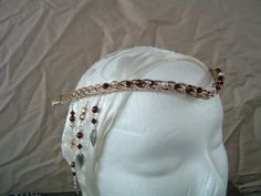 The Queen Guinevere Celtic Circlet Custom Colors by PernCirclets