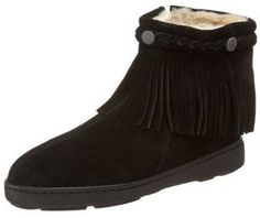Minnetonka Women's Fringe Ankle Boot on shopstyle.com