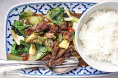 Asiatisches Rind mit Pak-Choi und Chili von Madame Cuisine - #Asiatisch, #AsiatischOrientalisch, #Chili, #PakChoi, #Rind