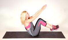 Get Ripped: 3 Easy Abs Moves You Can Do at Home from #InStyle