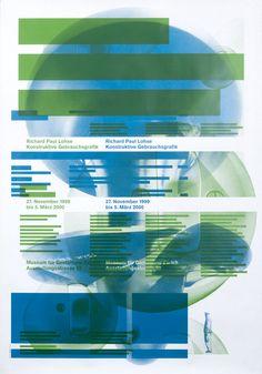 Richard Paul Lohse - Konstruktive Gebrauchsgrafik by Muller & Hess | Vintage Posters at International Poster Gallery