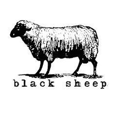Sheep Art, Moose Art, Sheep Logo, Arte Grunge, Sheep Illustration, Baa Baa Black Sheep, Ink Illustrations, Silk Screen Printing, Clipart