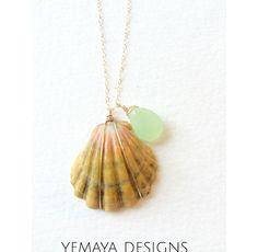Rare Hawaiian Sunrise Shell Necklaces www.etsy.com/shop/yemayadesignshawaii