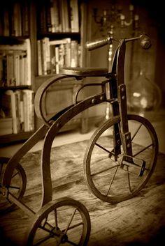 bleistift-und-radiergummi:    Vintage Tricycle