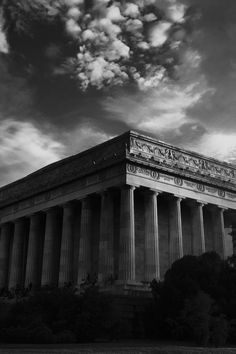 Grayscale Photo of the Parthenon