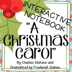 This resource is the perfect companion to A Christmas Carol written by Charles Dickens and dramatized by Frederick Gaines.Through small group work, independent studies, and class discussions students will not only understand and appreciate the elements 6th Grade Ela, Seventh Grade, Teaching Language Arts, Reading Skills, Reading Activities, Educational Websites, Student Reading, Christmas Carol, Christmas Ideas