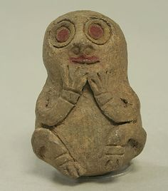 Ceramic Whistle. 7th–2nd century BCE. Peru. Paracas