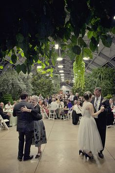 Wedding Reception Dinner At Garfield Park Conservatory By Inspired Catering And Events Inspiredbykgs 04 02 15