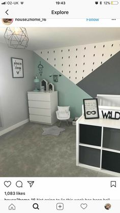 Nursery Decorating Ideas - Baby Room Design For Chic Parent DIY geometrische W. - Nursery Decorating Ideas – Baby Room Design For Chic Parent DIY geometrische W… Nursery Decorating Ideas – Baby Room Design For Chic Parent DIY geometrische Wandmuster – – Baby Bedroom, Baby Boy Rooms, Baby Room Decor, Nursery Room, Nursery Decor, Bedroom Decor, Boy Toddler Bedroom, Bed Room, Nursery Ideas