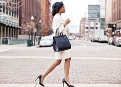 The Fundamentals of a (Fabulous) Professional Wardrobe | Levo League |         fashion tips, office fashion, power suit, professional style