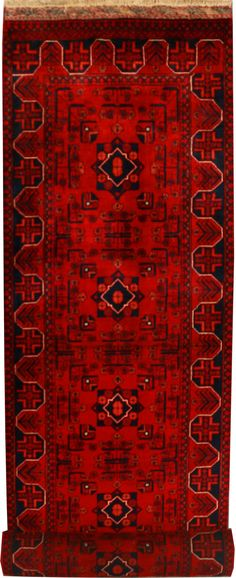 """Khal Mohammadi 2' 7"""" x 12' 7"""" (ft) Rugs On Carpet, Carpets, Persian Pattern, Oriental Rugs, Ethan Allen, Magic Carpet, All You Need Is Love, Red Rugs, Persian Rug"""