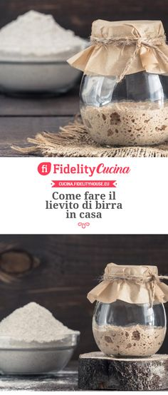How to make home brewer's yeast - Fidelity Cucina Brewers Yeast, Pasta Maker, Salty Cake, Slow Food, Food Hacks, Sweet Recipes, Food To Make, Food And Drink, Cooking Recipes