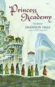 Original cover of the chidren's book - Princess Academy, which is a superb read..don't let the title fool you.