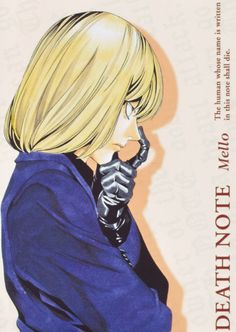 Photo of Mello for fans of Mello 32477485 Death Note デスノート, Death Note Fanart, Fanarts Anime, Anime Characters, Fictional Characters, Death Note Quotes, Hot Men, Manga Art, Hippie Goth