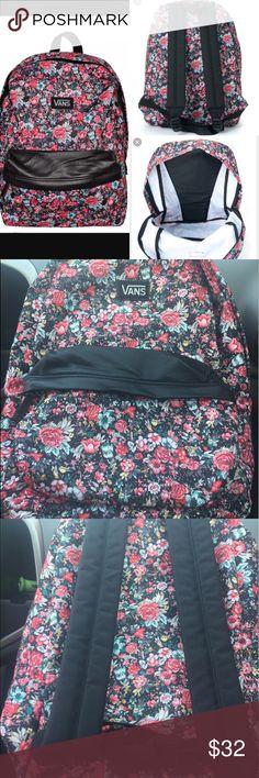 NWT VANS MULTI FLORAL BACKPACK New VANS FLORAL BACKPACK.  NO DEFECTS. Any questions ask below! Vans Bags Backpacks