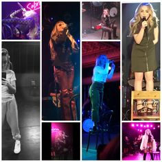 "2017 Sabrina Carpenter needs only a simple chair as a stage prop. Photos: ""Hello old friend"" during 2017 RDMA & European Tour rehearsals, Soy Luna filming 2016 & EVOLution Tour 2K16"