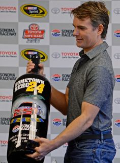 Jeff getting honored at Sonoma Raceway