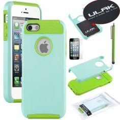 Pandamimi ULAK(TM) Aqua Blue & Green Fashion Sweety Girls TPU + PC 2-Piece Style Soft Hard Case Cover for iPhone 5 5S with Free Screen Protector and Stylus ULAK,http://www.amazon.com/dp/B00CM3K9VS/ref=cm_sw_r_pi_dp_3nIIsb1VXVEXSSCG