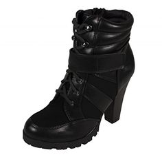 Lustacious Women's Lace Up Velcro Closure Strap Stacked Chunky Heel Ankle Bootie with Side Zipper, black leatherette, 5.5 M US Soda http://www.amazon.com/dp/B015GB8M7K/ref=cm_sw_r_pi_dp_DqF-vb1WJQ0Z7