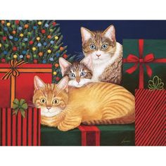 """Marla, Buster & Edna Williams"" Christmas Cards"
