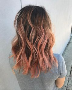 """Blorange"" Is The Latest Hair Color Trend To Sweep Instagram — & It's Even Better Than Rosé #refinery29  http://www.refinery29.com/2017/01/136926/blorange-hair-color-trend#slide-1  If going for a full head of ""blorange"" makes you nervous, opt for a more-subtle ombré effect instead. The grow out with be easier and it will be less damaging to hair. ..."