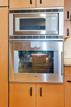 Gaggenau Oven and Microwave modern major kitchen appliances