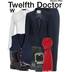 Inspired by Peter Capaldi as the Twelfth Doctor on Doctor Who.