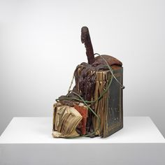 John Latham Firenze, 1967 Polystyrene foam and books, plastic tubes, metal pipes 76 x 57 x 61 cm  Lisson Gallery