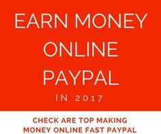 earn money online paypal