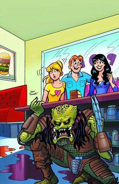 Dark Horse Cover of the Day: Archie Vs Predator #2