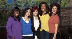 Co-hosts Sheryl Underwood, Sara Gilbert, Sharon Osbourne, Aisha Tyler & Julie Chen