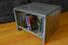 How To Build A Bookshelf Footstool