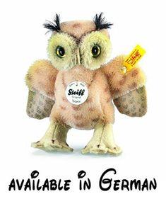 B00DBDNIKC : Steiff 033131 Wittie Eule 11 cm Mohair beige gefleckt. Grösse: 11 cm #Toy #TOYS_AND_GAMES