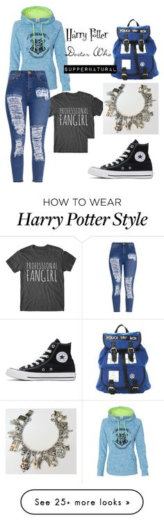 """""""Back To School, wait for it, FANGIRL STYLE!!!"""" by imthedoctor on Polyvore featuring Converse"""