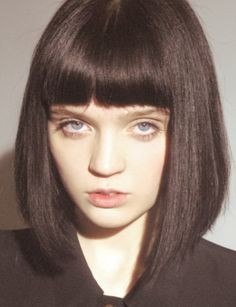 More dream hair. I could never get my bangs to do that though.