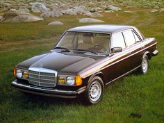 1985 Mercedes Benz 300D Turbo