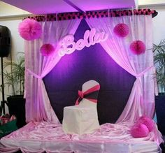 Debut Stage Backdrop Debut Party | Debut De...