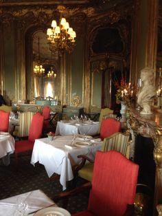 Cliveden dining room