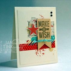 Perfect Pennants Birthday Card by JanTInk - Cards and Paper Crafts at Splitcoaststampers by betsy