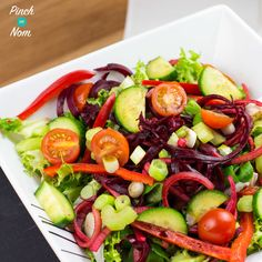 Syn Free Spiralized Apple and Beetroot Salad   Slimming World