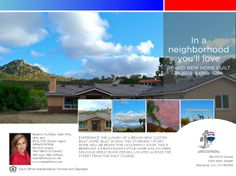 A BEAUTIFUL BRAND NEW HOME BUILT IN 2014, RAMONA, CA 92065