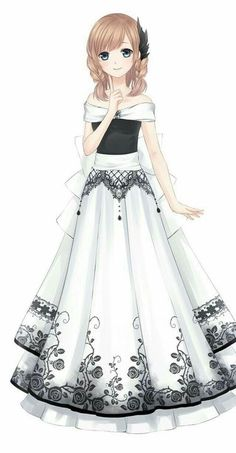 Drawing anime girl kawaii outfit Ideas for 2019 - Drawing anime girl kawaii outfit Ideas for 2019 - Manga Girl, Anime Girl Dress, Cool Anime Girl, Pretty Anime Girl, Beautiful Anime Girl, Anime Art Girl, Anime Girls, Anime Neko, Manga Kawaii