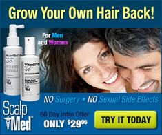 In the first couple of months of using Scalpmed thinning should start to reverse. Some unhealthy hairs will start to thicken and some may sh...  Try Scalp Med Risk Free!