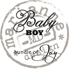 Picture of Marianne Design Clear Stamp Baby Boy