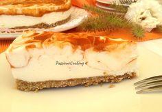Cheesecake variegata all'albicocca - golosa e fresca